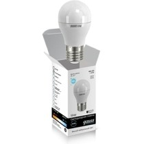 Светодиодная лампа шар Gauss elementary 6W 4100K Е27 LD53226