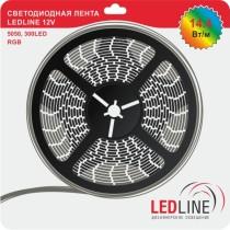 светодиодная лента ledline 14.4W RGB